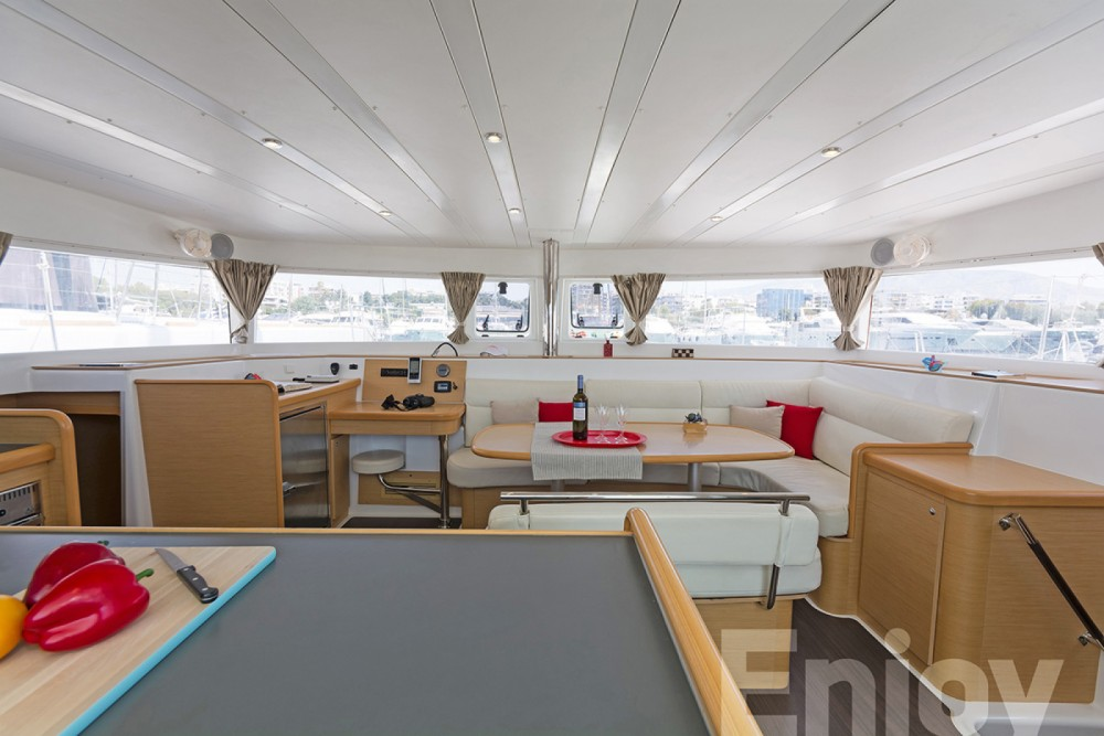 Hire Catamaran with or without skipper Lagoon Laurium