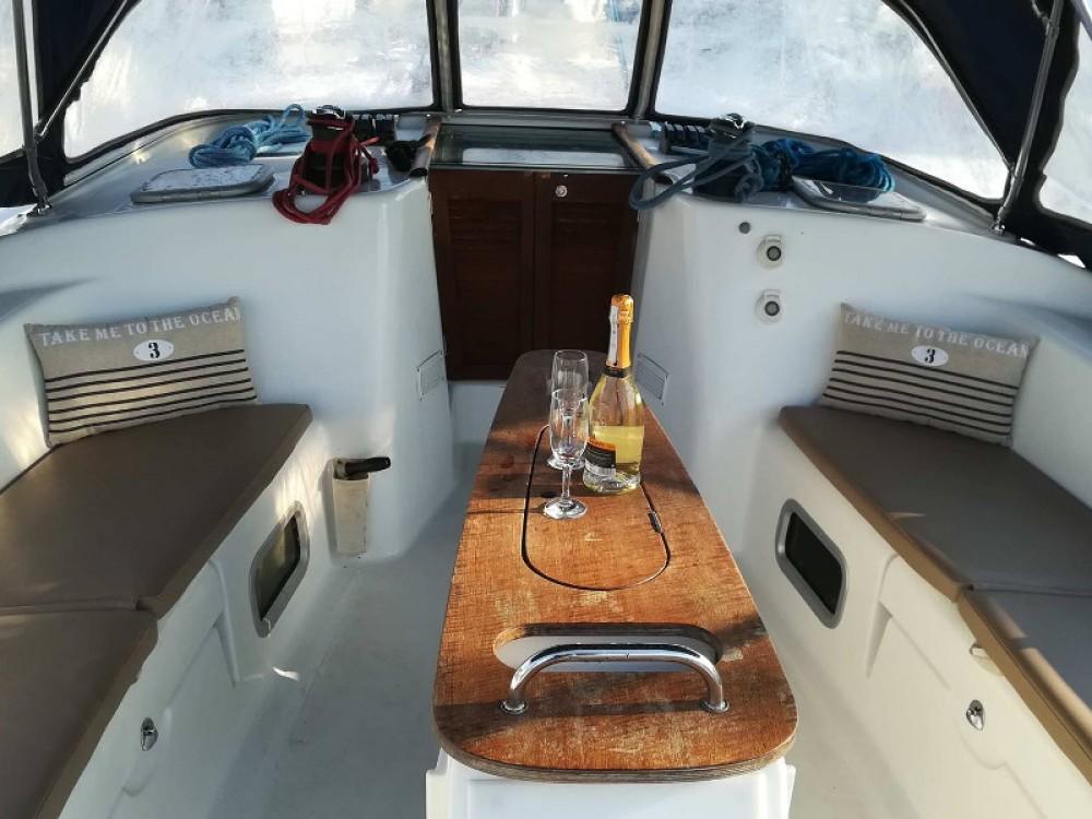 Boat rental Lefkada cheap Beneteau Cyclades 50.5