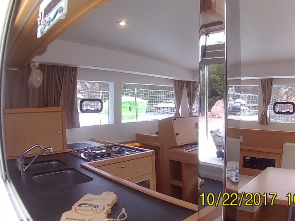 Louer Catamaran avec ou sans skipper Lagoon à Poltu Quatu