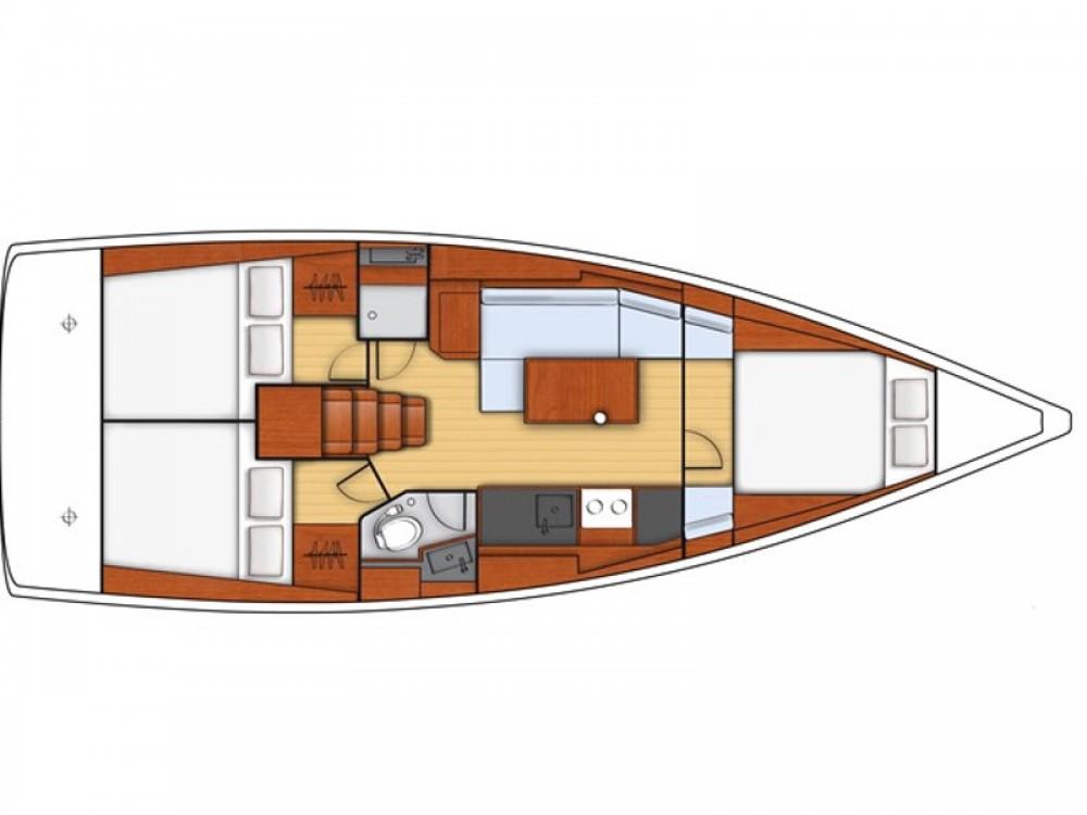 Location bateau Bénéteau Oceanis 38 à Portorož / Portorose sur Samboat