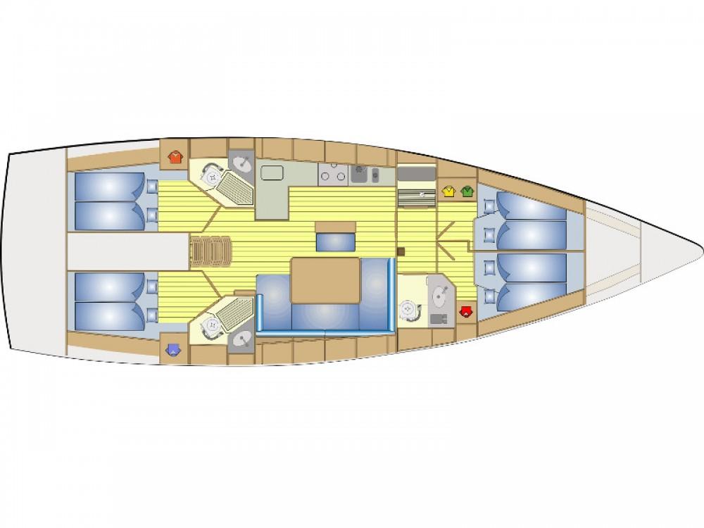 Rental Sailboat in San Vincenzo - Bavaria Bavaria Cruiser 46
