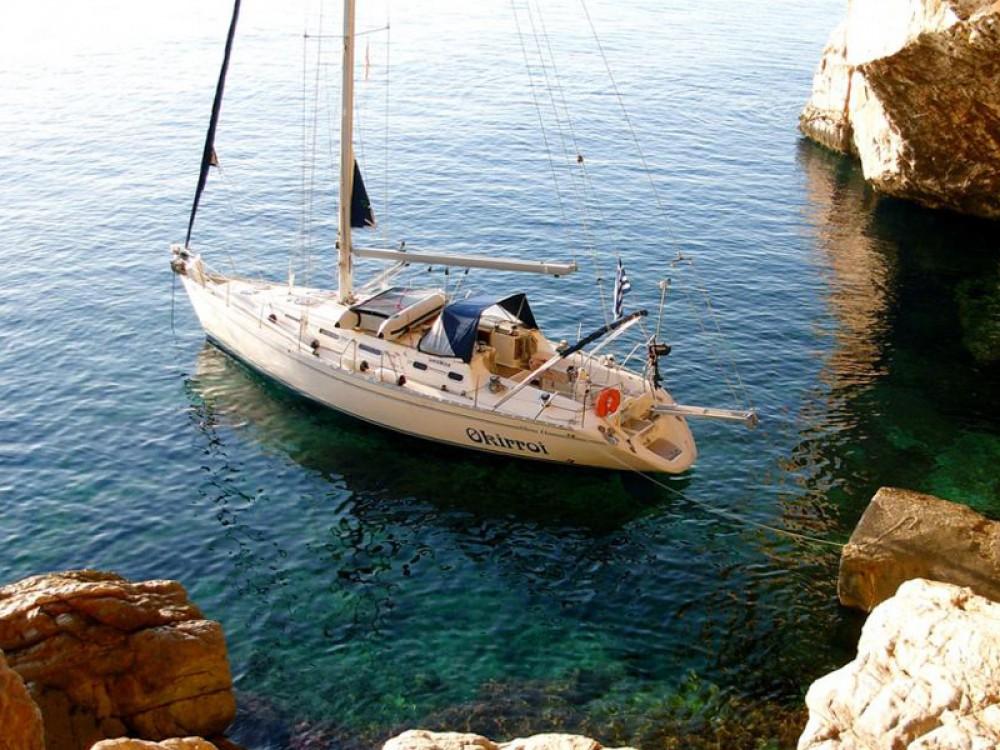 Boat rental Jeanneau Sun Odyssey 440 in Áno Sýros on Samboat