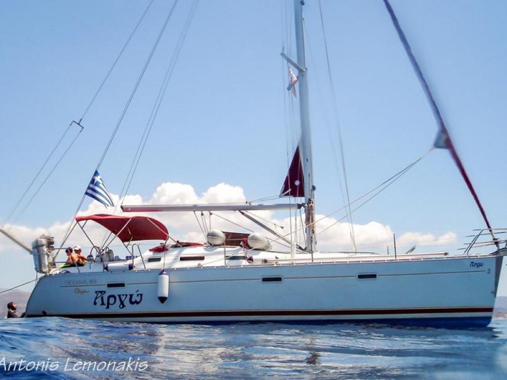 Rental Sailboat in Áno Sýros - Bénéteau Oceanis 393 Clipper