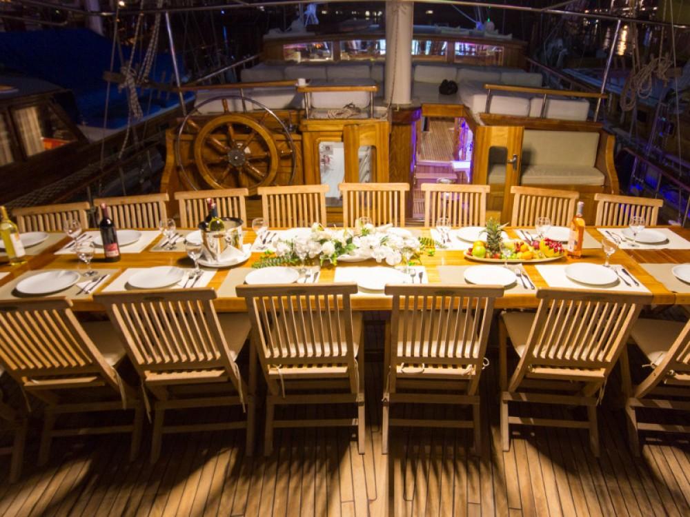Rental Sailboat in Aegean -  Gulet Hera