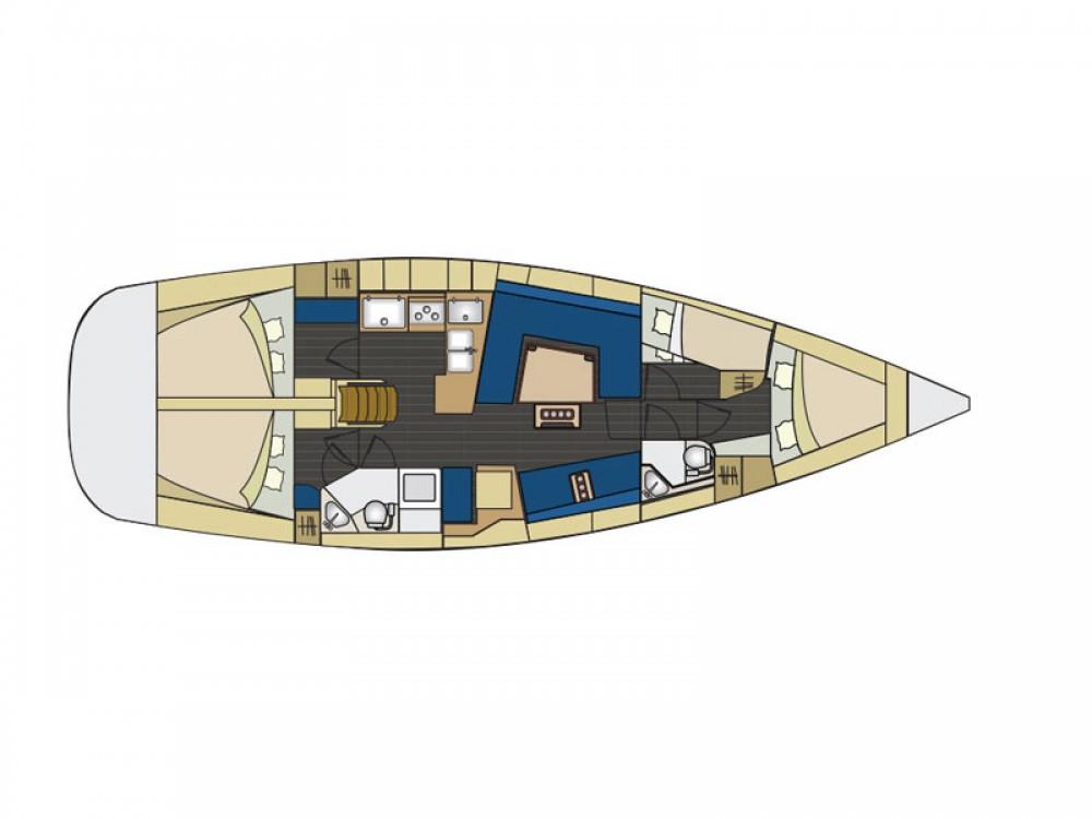 Rental Sailboat in Piombino - Elan Elan 444 Impression