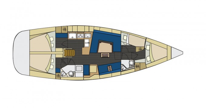 Location bateau Elan Elan 444 Impression à Piombino sur Samboat