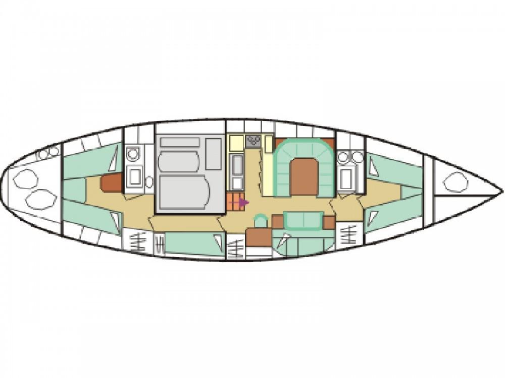 Rental yacht Piombino -  Amel Maramu on SamBoat