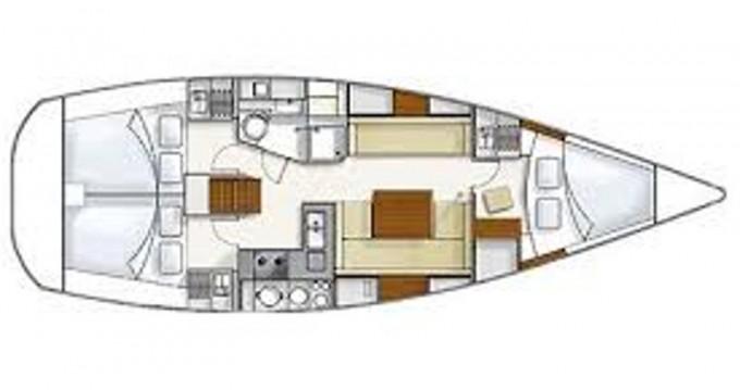Location bateau Piombino pas cher Hanse 370