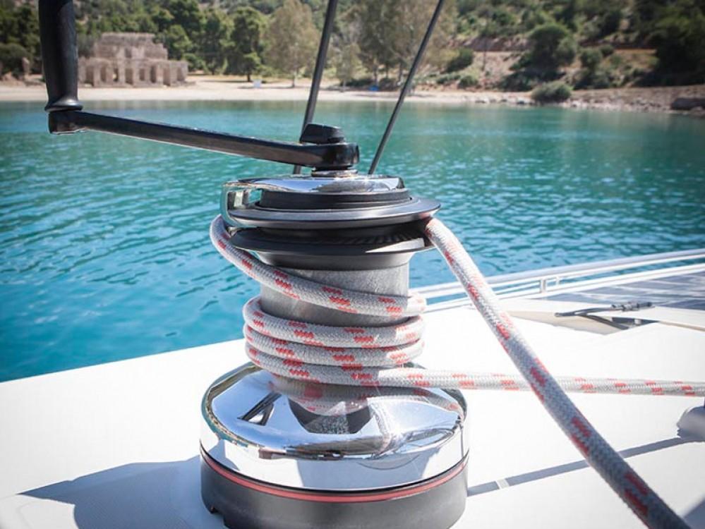 Boat rental Alimos Marina cheap Lagoon 500