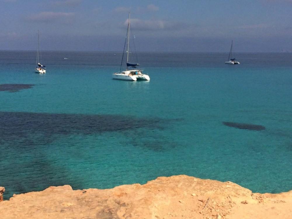 Alquiler de Lagoon Lagoon 440 en Marina de Formentera