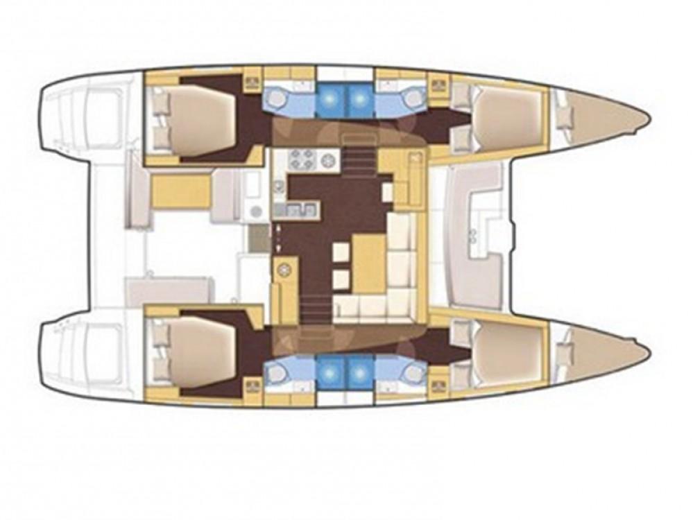 Lagoon Lagoon 450 Luxury between personal and professional Trogir
