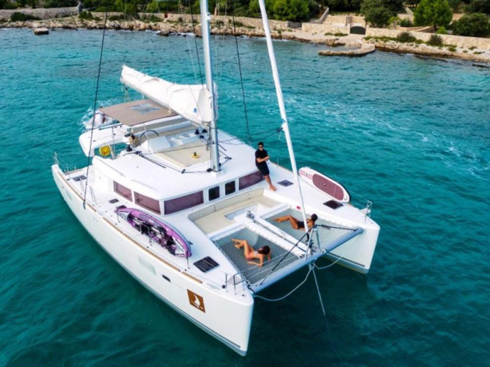 Boat rental Trogir cheap Lagoon 450 Luxury