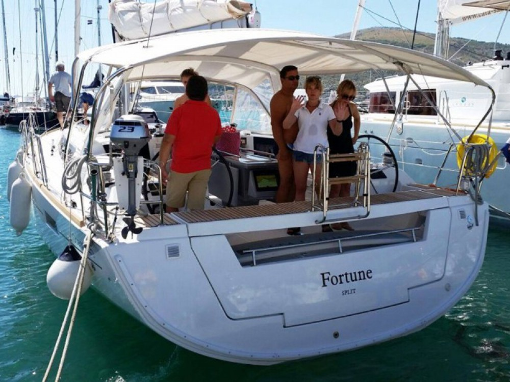 Bénéteau Oceanis 45 between personal and professional ACI Marina Dubrovnik