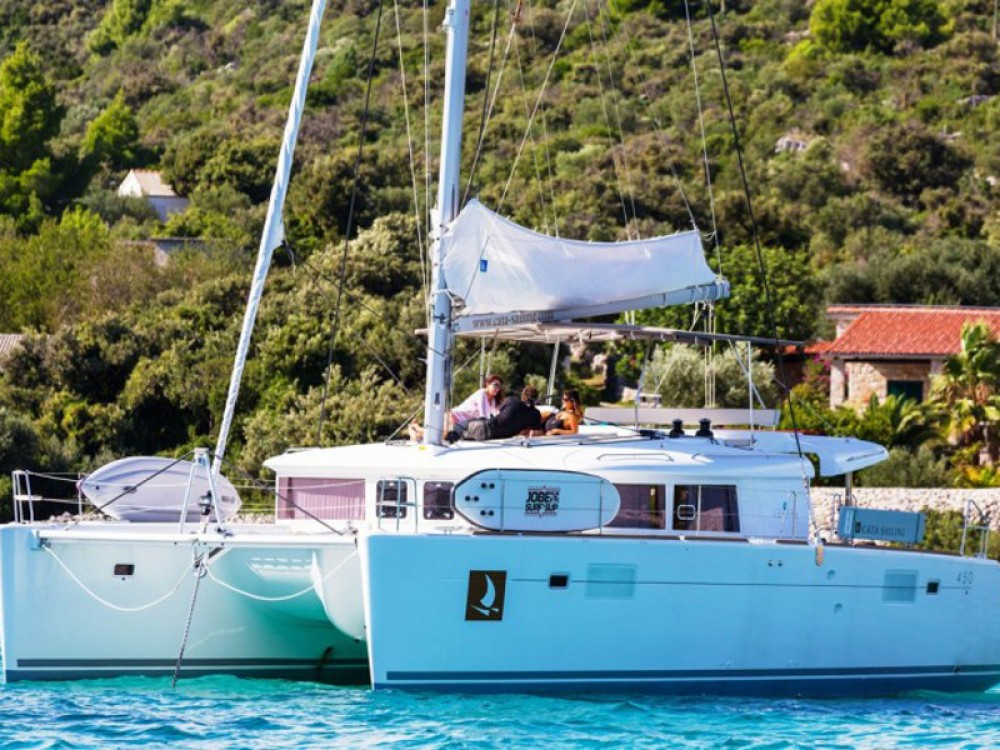 Rental yacht Trogir - Lagoon Lagoon 450 F Luxury on SamBoat