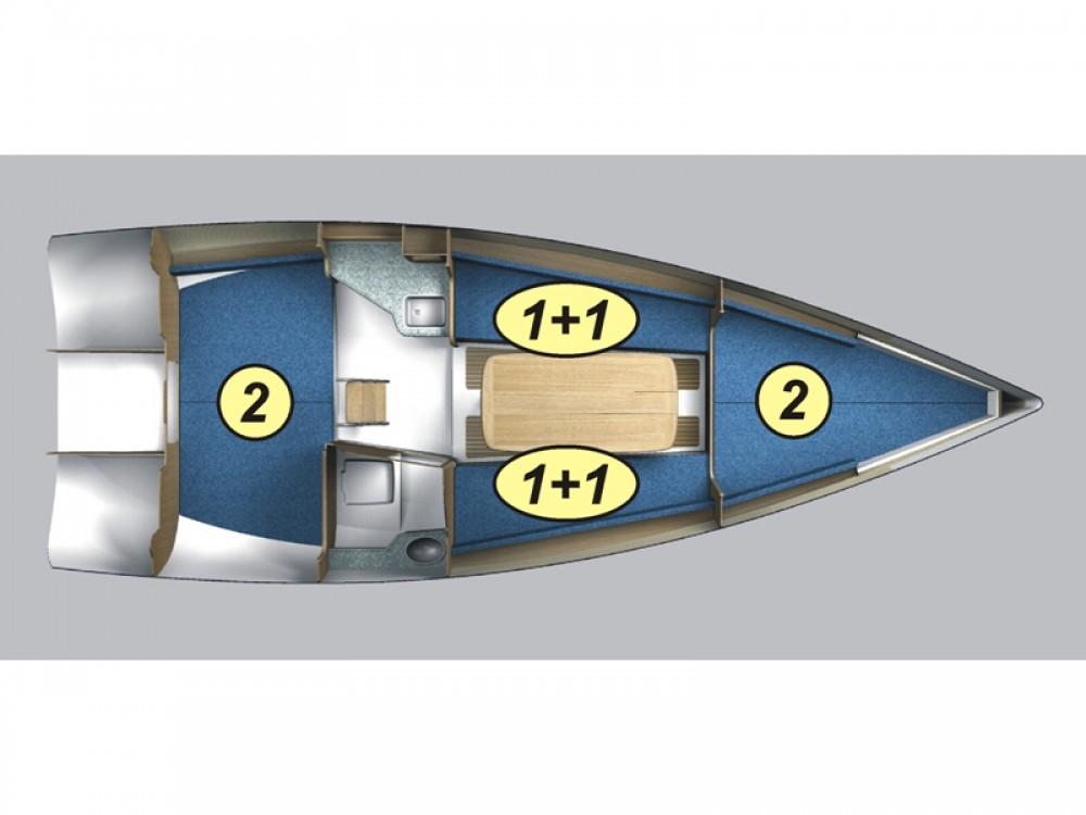 Boat rental Northman Maxus 28 Prestige in Port PTTK Wilkasy on Samboat