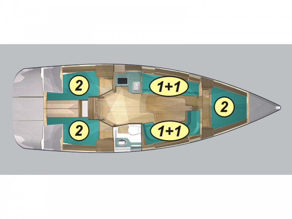 Rental yacht Węgorzewo - Northman Maxus 33.1 RS Prestige on SamBoat
