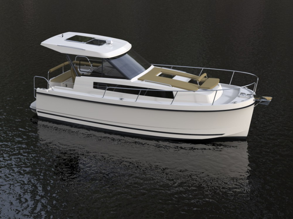 Boat rental Northman Nexus Revo 870 Prestige +/1cab in Węgorzewo on Samboat