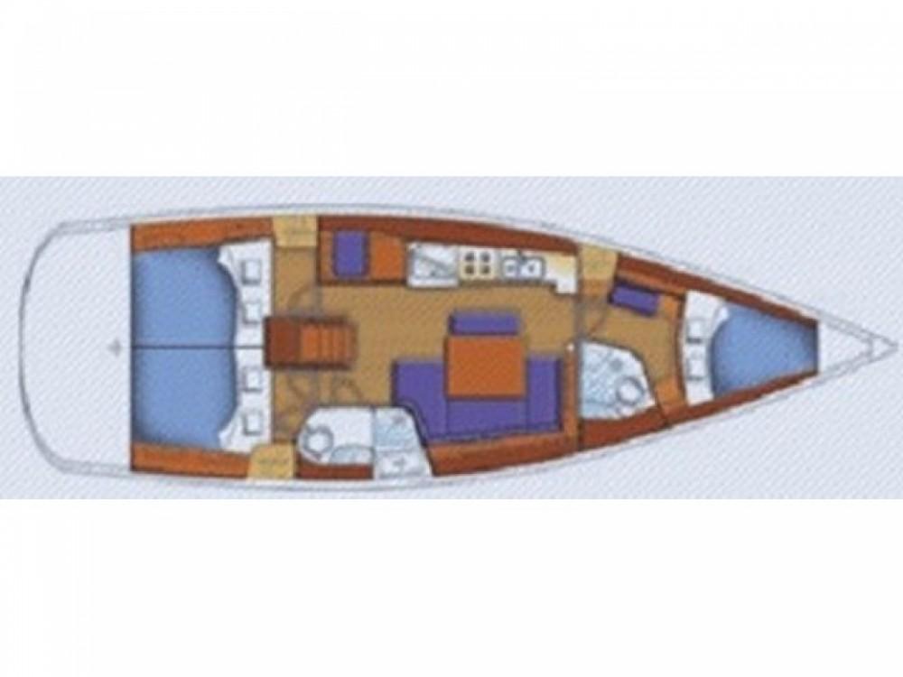Rental yacht  - Bénéteau Oceanis 43-3 on SamBoat
