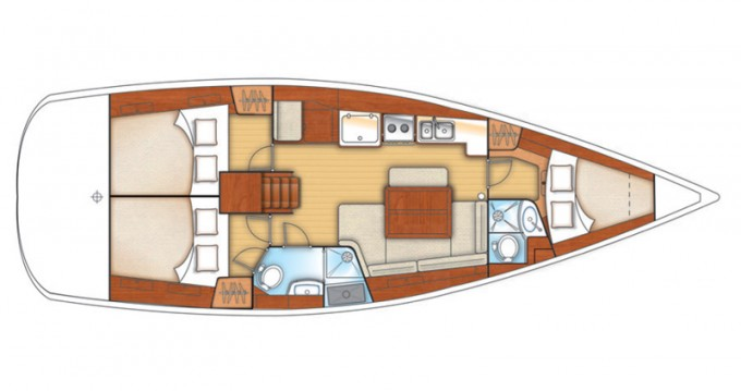 Location bateau Arona pas cher Oceanis 40
