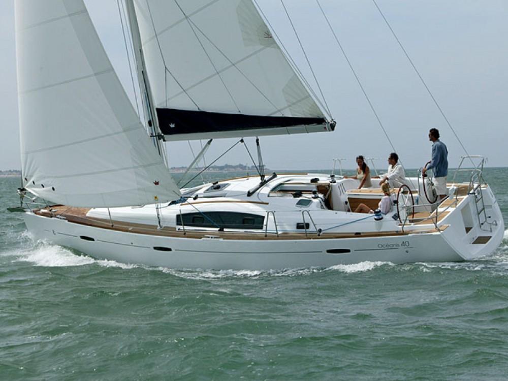 Boat rental Arona cheap Oceanis 40