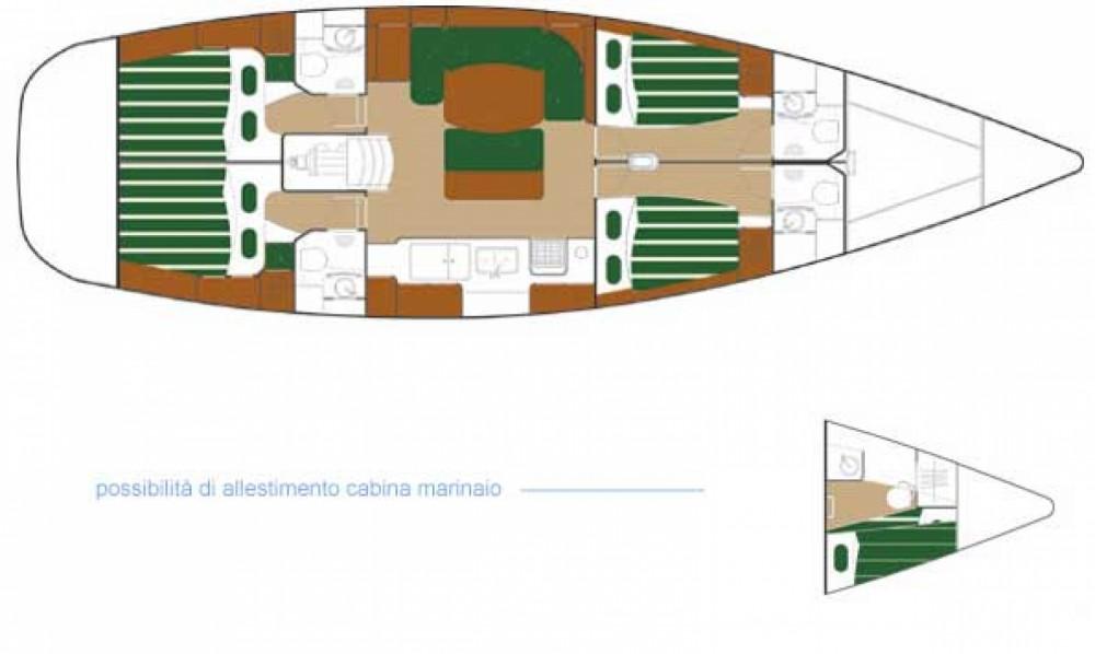 Verhuur Zeilboot in Palmeira - Bénéteau Beneteau 50