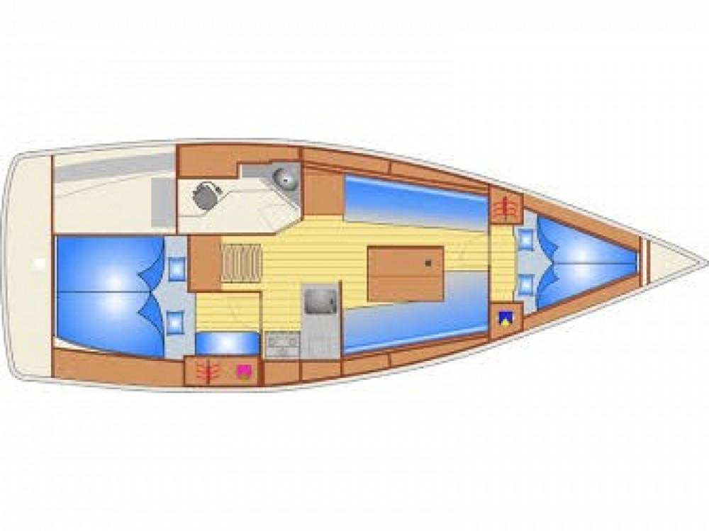 Boat rental Bavaria Bavaria Cruiser 32 in Marina Pirovac on Samboat