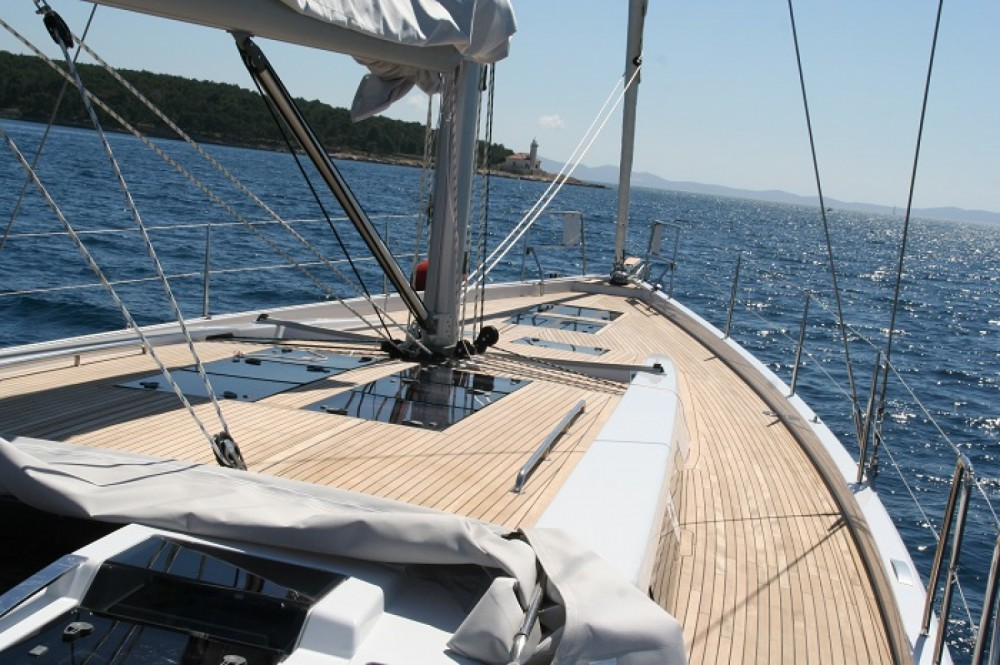 Rental Sailboat in Marina Kaštela - Hanse Hanse 575
