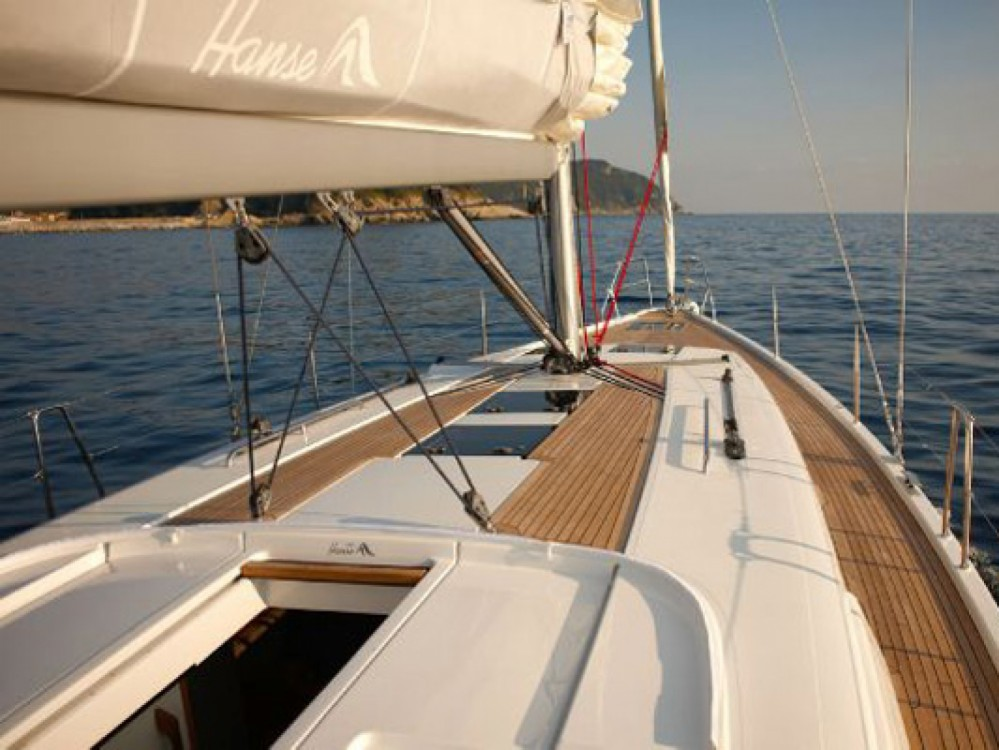 Hanse Hanse 445/4 between personal and professional Marina Kaštela
