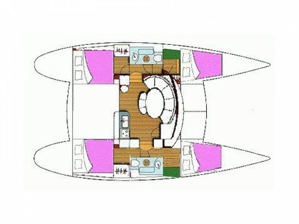 Location yacht à Leucade - Lagoon Lagoon 380 S2 sur SamBoat