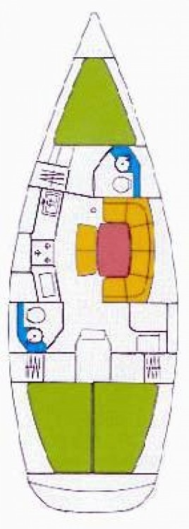 Location yacht à Leucade - Jeanneau Sun Odyssey 37.1 sur SamBoat