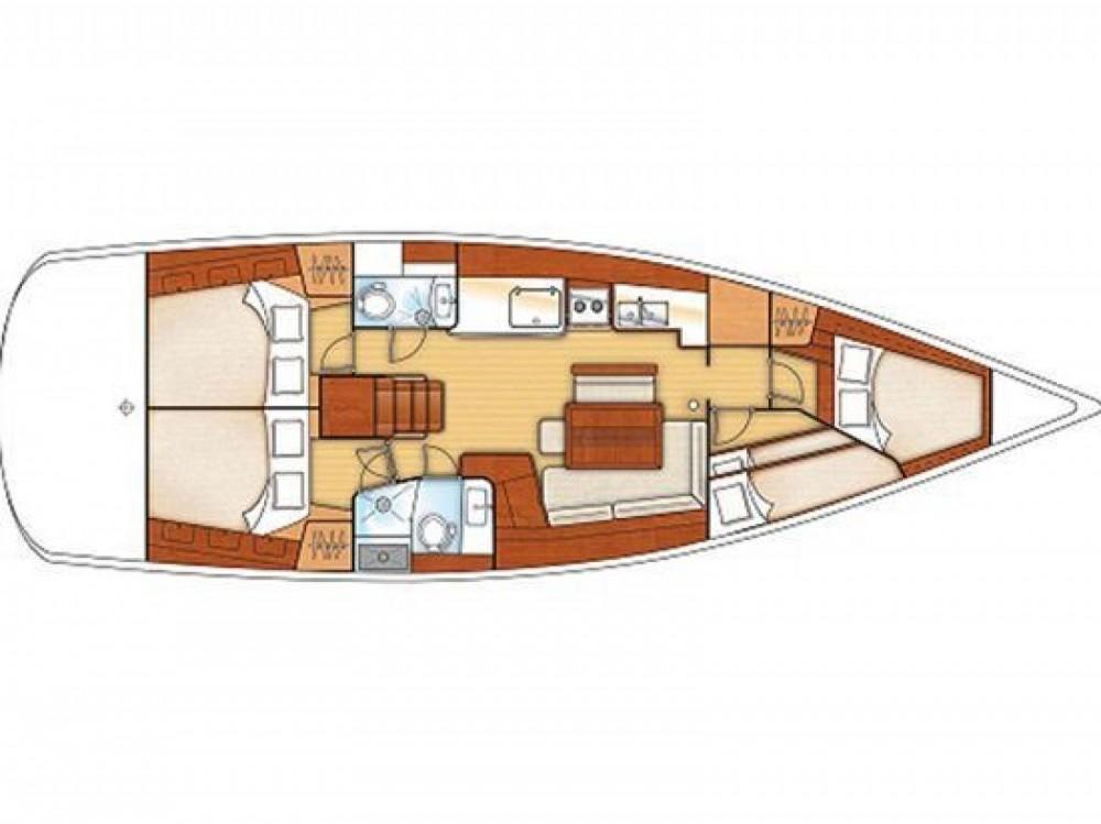 Location yacht à Leucade - Bénéteau Oceanis 46 sur SamBoat