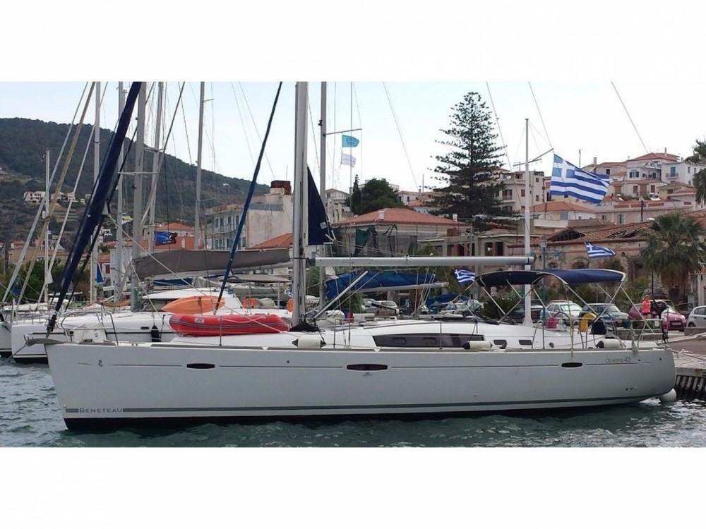 Location bateau Leucade pas cher Oceanis 46