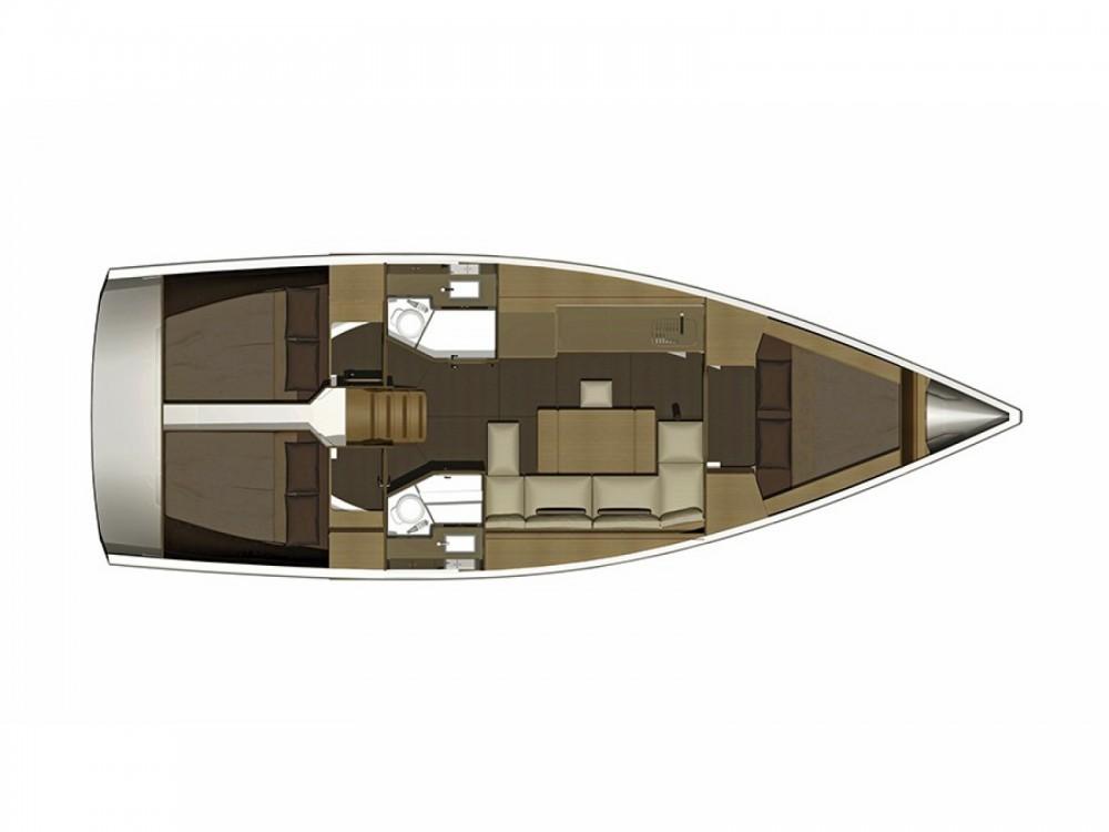 Location yacht à Sibenik - Dufour Dufour 382 Grand Large sur SamBoat
