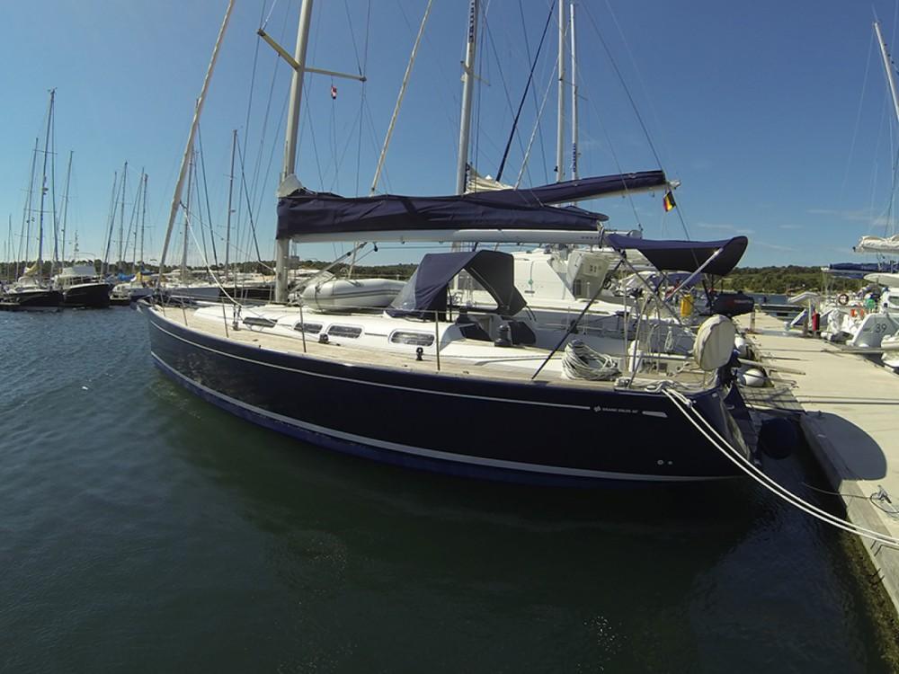 Location bateau Sibenik pas cher Grand Soleil 45