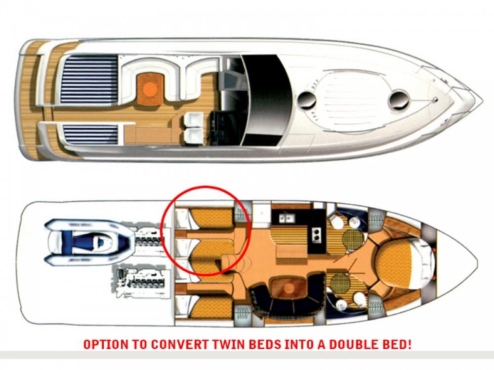 Louez un Fairline Fairline Targa 52 GT à Sibenik