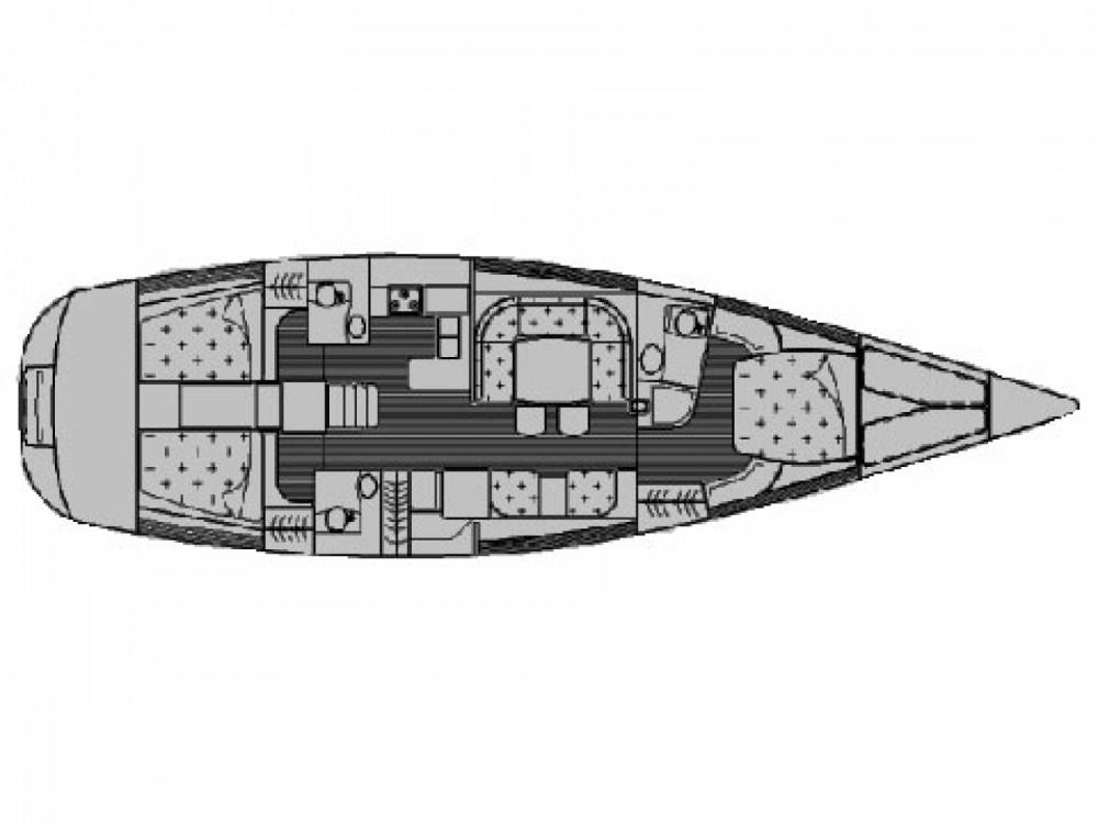Location bateau Sibenik pas cher Grand Soleil 56