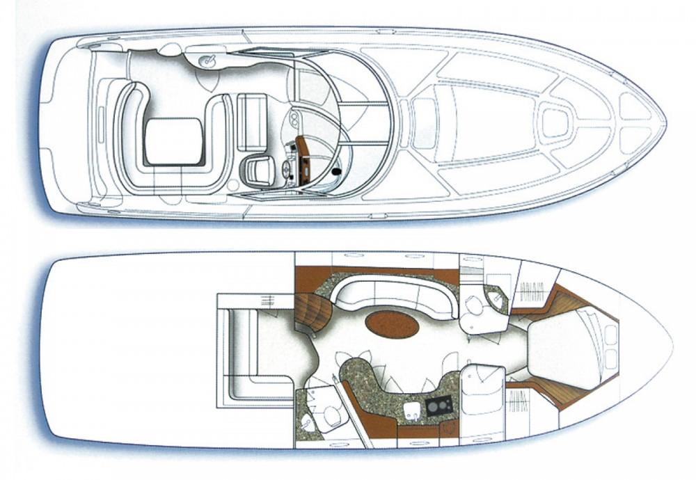 Louer Bateau à moteur avec ou sans skipper Sea Ray à Sibenik