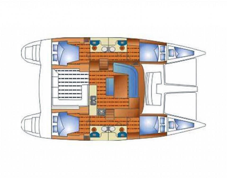 Location Catamaran à Sibenik - Lagoon Lagoon 440