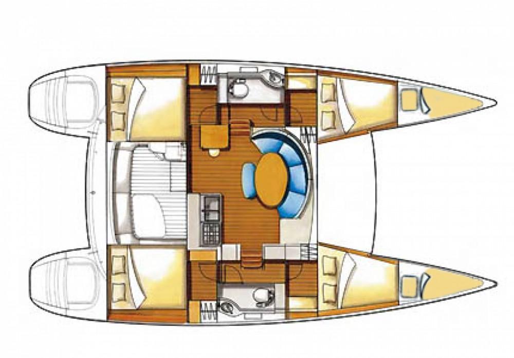 Location bateau Sibenik pas cher Lagoon 380 S2