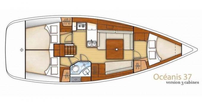 Location bateau Bénéteau Oceanis 37 à Sukošan sur Samboat
