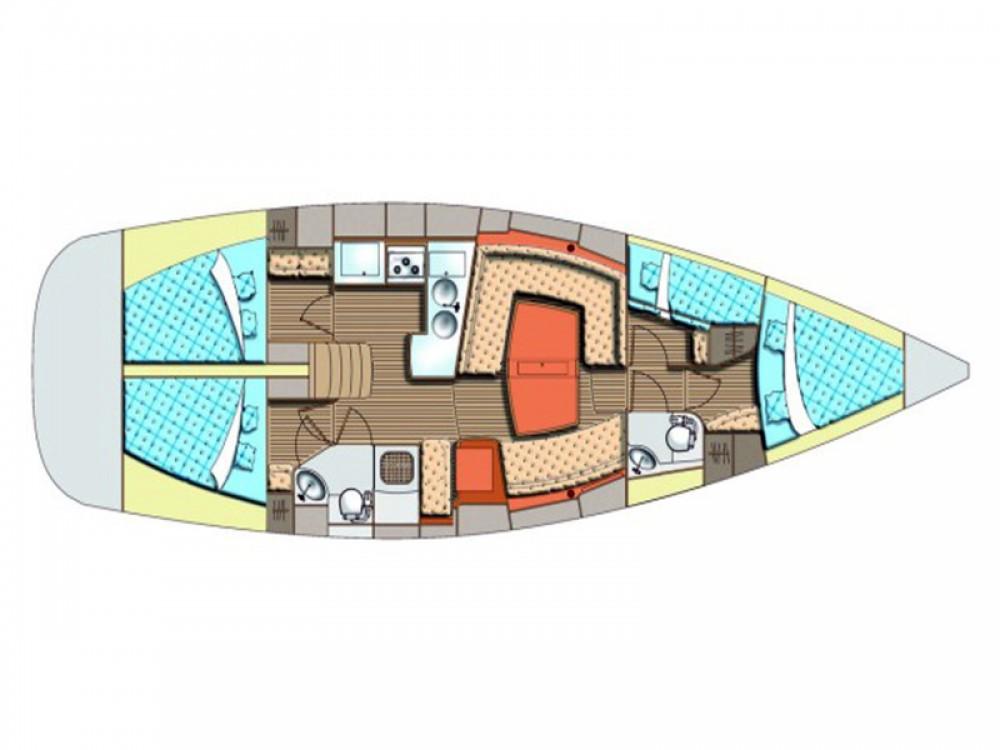 Location bateau Sukošan pas cher Elan 434