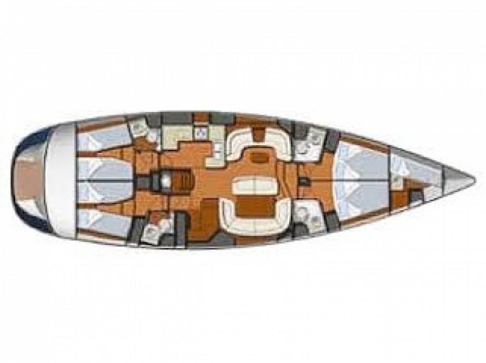 Location bateau Jeanneau Sun Odyssey 54 DS à Sukošan sur Samboat