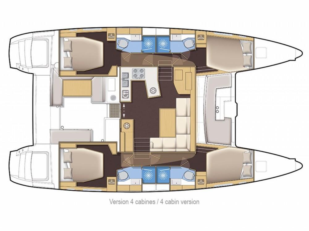 Yacht-Charter in Lávrio - Lagoon Lagoon 450 auf SamBoat