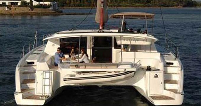 Location yacht à Marina Gouvia - Fountaine Pajot Salina 48 sur SamBoat
