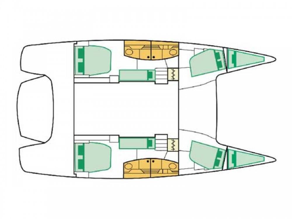 Louer Catamaran avec ou sans skipper Fountaine Pajot à Marina Gouvia
