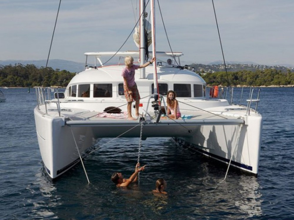Rental yacht Marina Gouvia - Lagoon Lagoon 380 on SamBoat