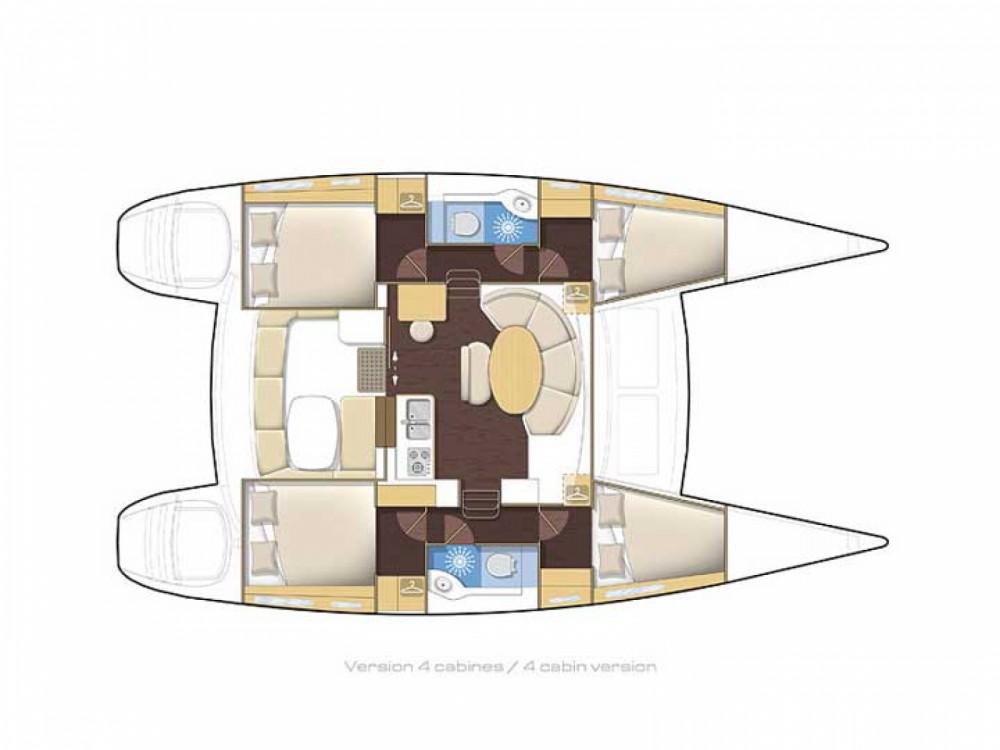 Location Catamaran à Marina Gouvia - Lagoon Lagoon 380
