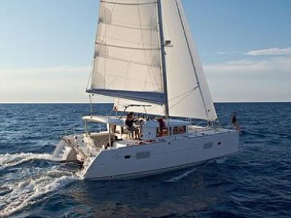 Location yacht à Marina Gouvia - Lagoon Lagoon 400 sur SamBoat