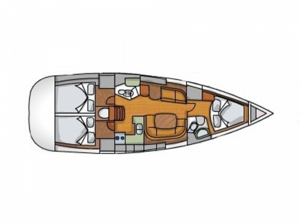 Bootsverleih Sukošan günstig Sun Odyssey 42 i