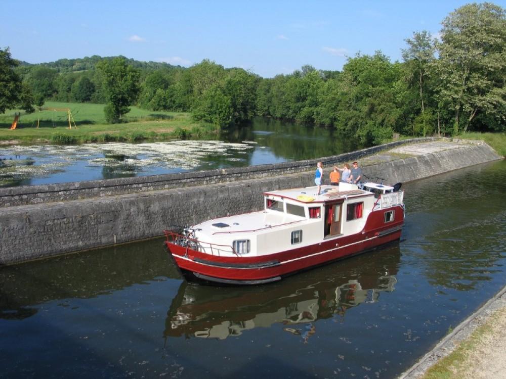 Location Bateau à moteur à Vermenton - Viking Burgundy 1200